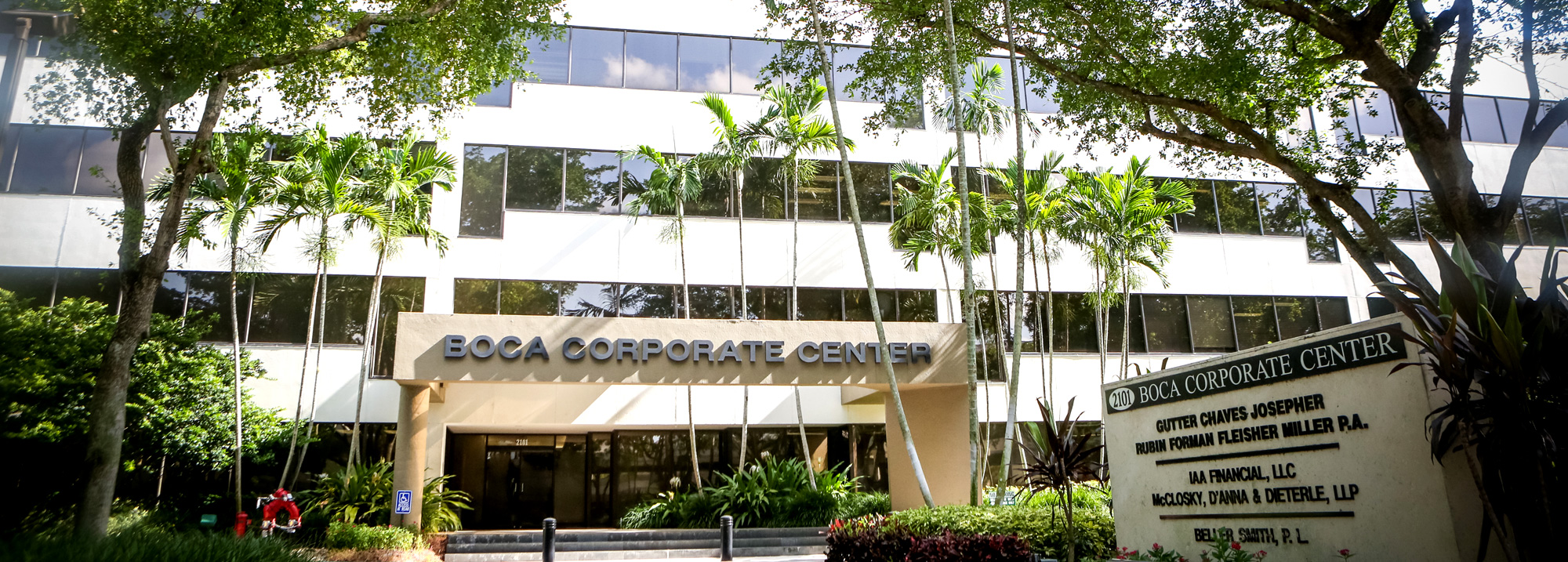 Boca Corporate Center Gutter Chaves Josepher Rubin Forman Fleisher Miller P. A. Offices