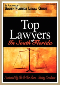 As Published In South Florida Top Lawyers