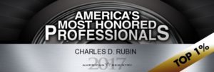 17 america's most honored professionals top 1 percent Gutter Chaves Law Firm