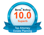 Avva Rating 10.0 Superb Top Attorney Estate Planning